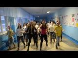 ФлешМоб в школе №28))с Новым годом!:3